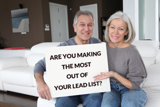 Are you making the most out of your lead list?